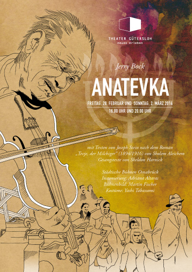 Theaterplakat Anatevka