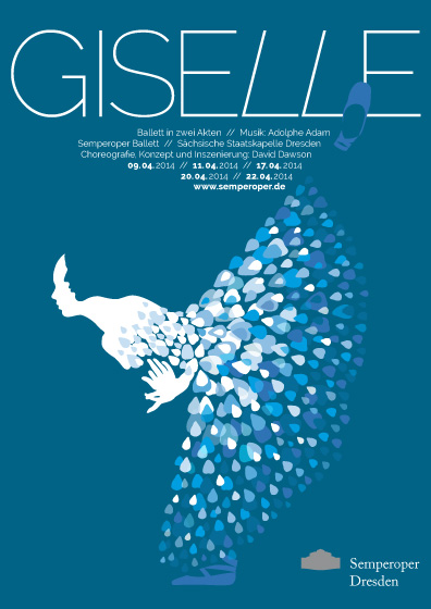 Theaterplakat Giselle